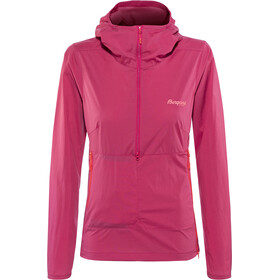 Bergans W's Fløyen Anorak Bougainvillea/Strawberry